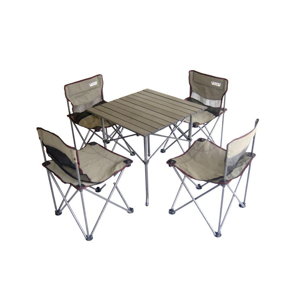 Ore International Portable Children S Camping Table And Chair Set