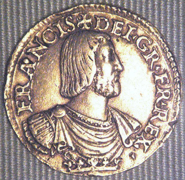 Médaille représentant François 1er