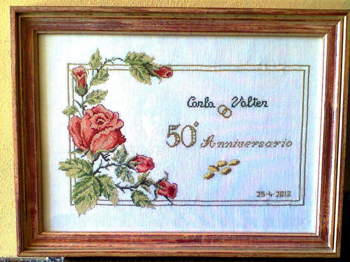 Targa per 50 anniversario occasioni speciali e for Targa oggi sposi