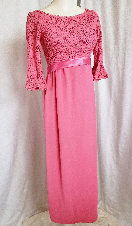 Bubble Gum Pink Pretty Princess Formal 1960 S Etsy 1960 Prom Dress Summer Eyelet Dresses 1960s Prom Dress [ 3000 x 1754 Pixel ]