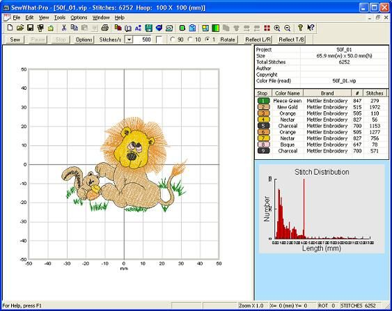 Sew What Pro 65 Embroidery Editing Program You Can Even Convert
