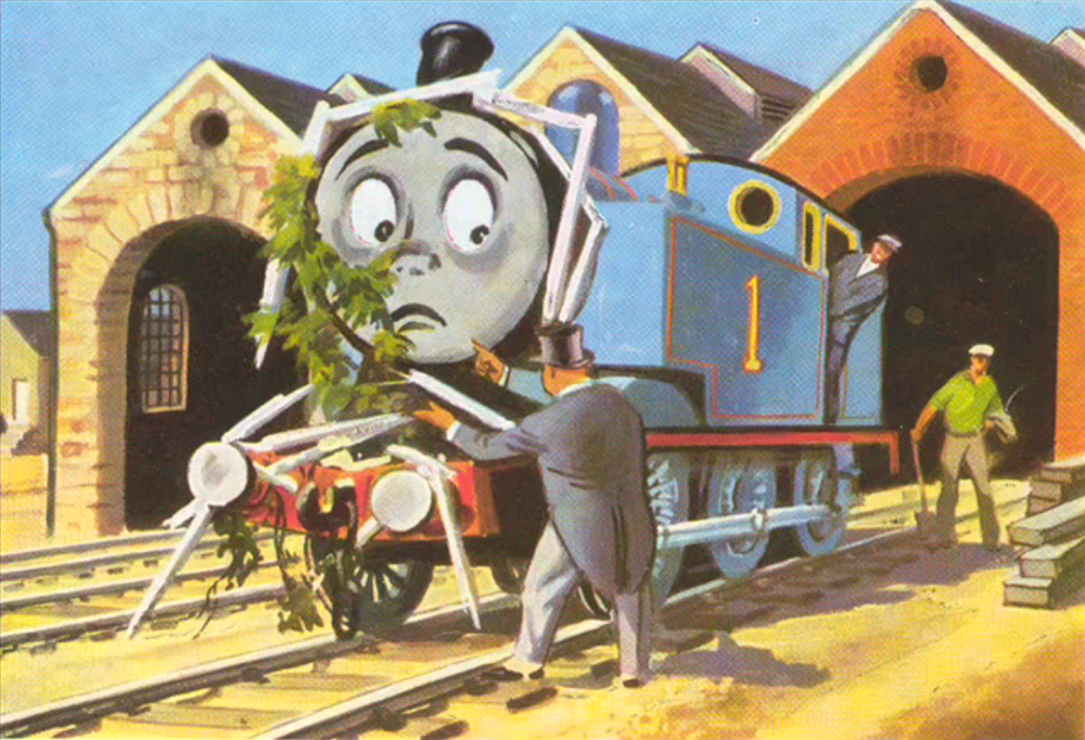 Branch Line Engines Friends Illustration Thomas And Friends Thomas The Tank Engine