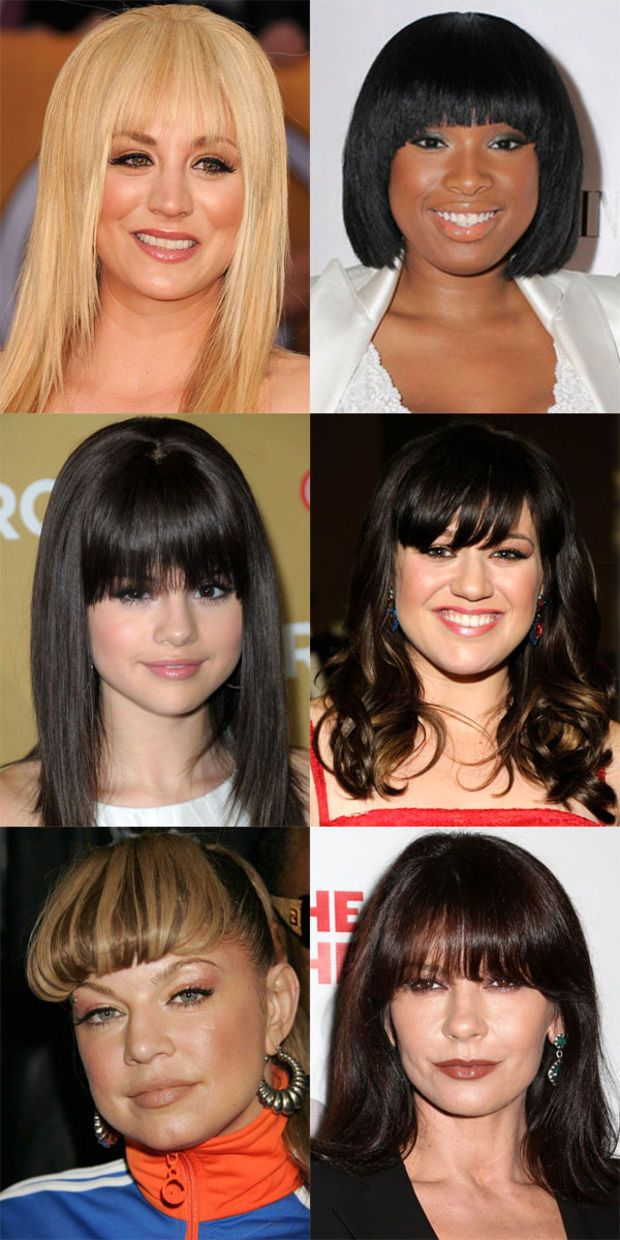 The Best And Worst Bangs For Round Face Shapes Bangs For Round Face Round Face Haircuts Long Wispy Bangs Round Face
