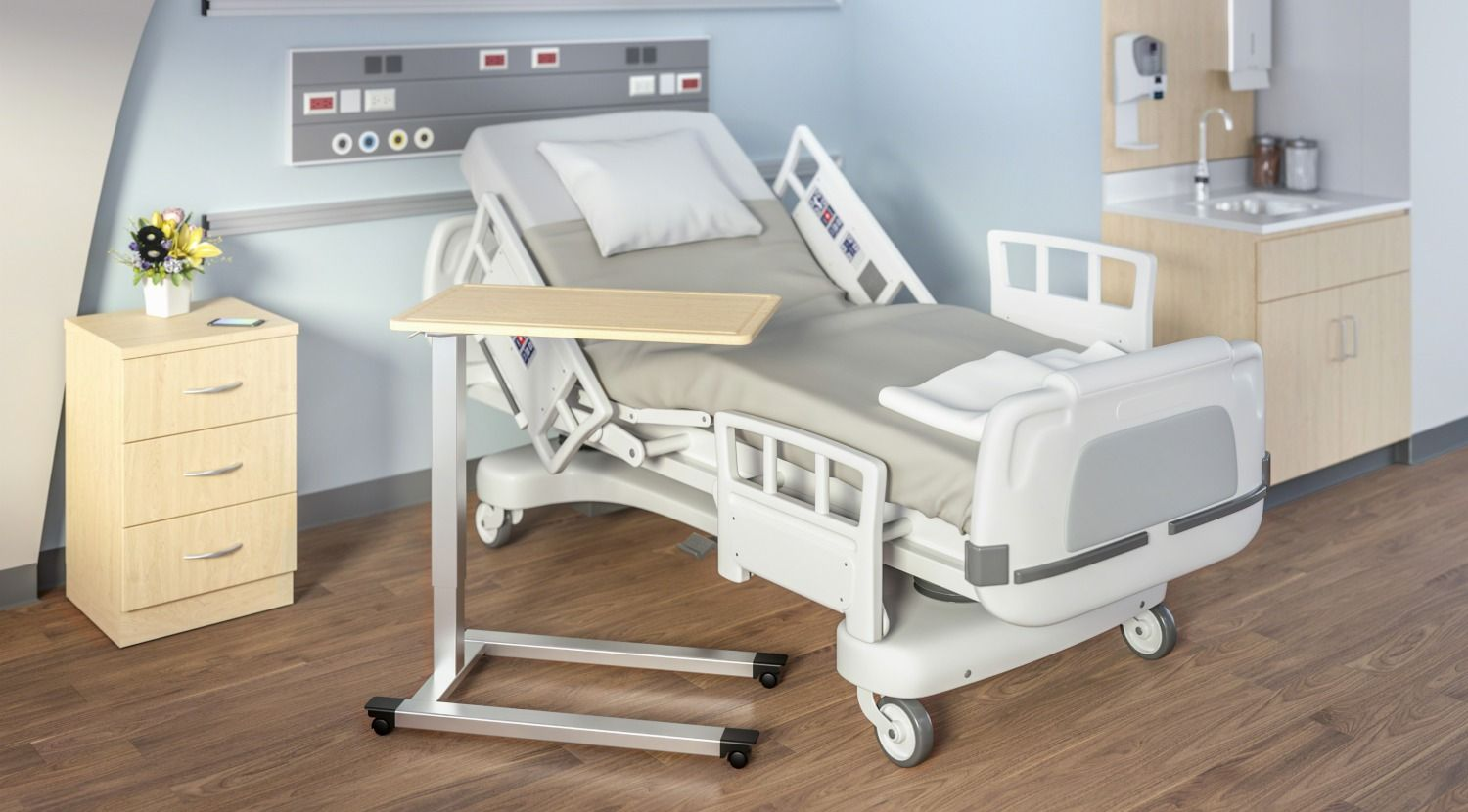 Overbed Tables (With images) Healthcare furniture