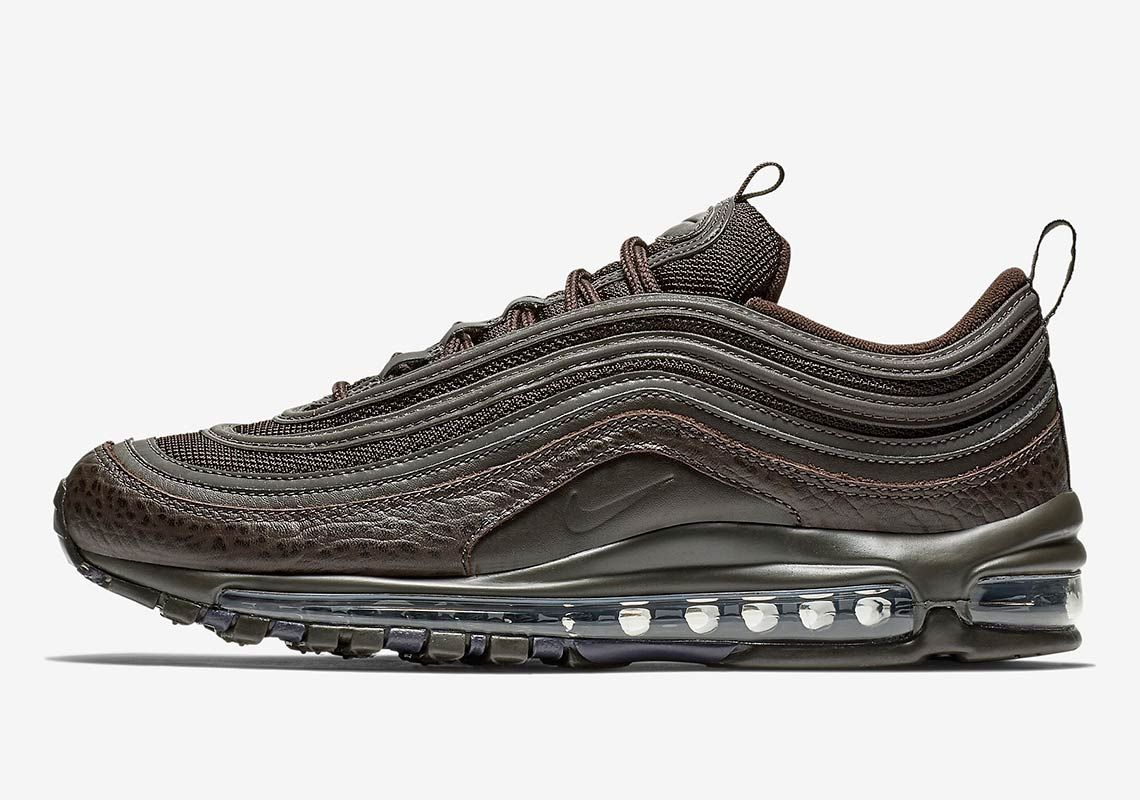 new style 7afdb fd96d Nike Air Max 97 Velvet Brown Is Available Now