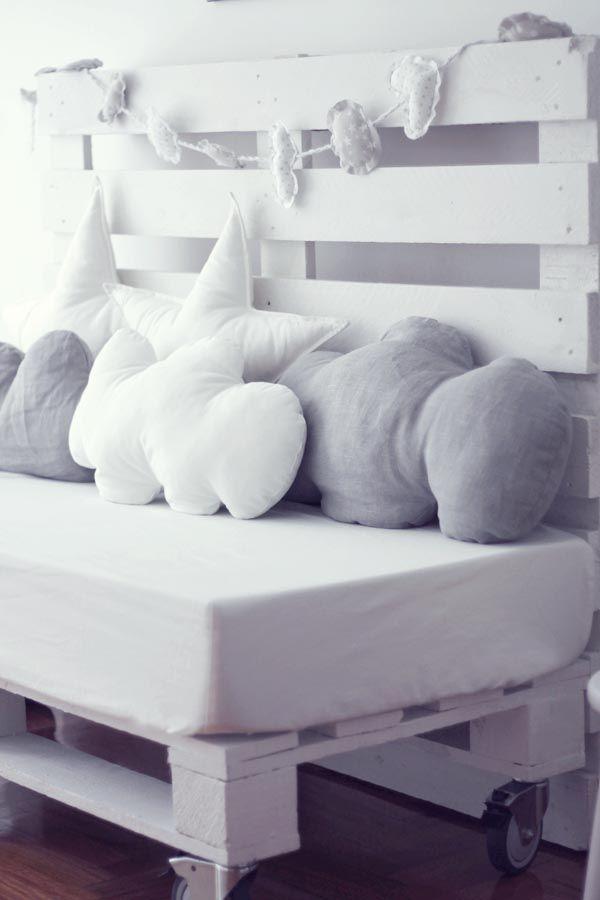 sillones con palets aprobechando cojines sofa