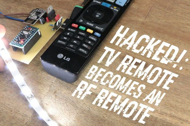 Rfic Design Engineer Sample Resume Tv Remote Becomes An Rf Remote  Remote Arduino And Tech