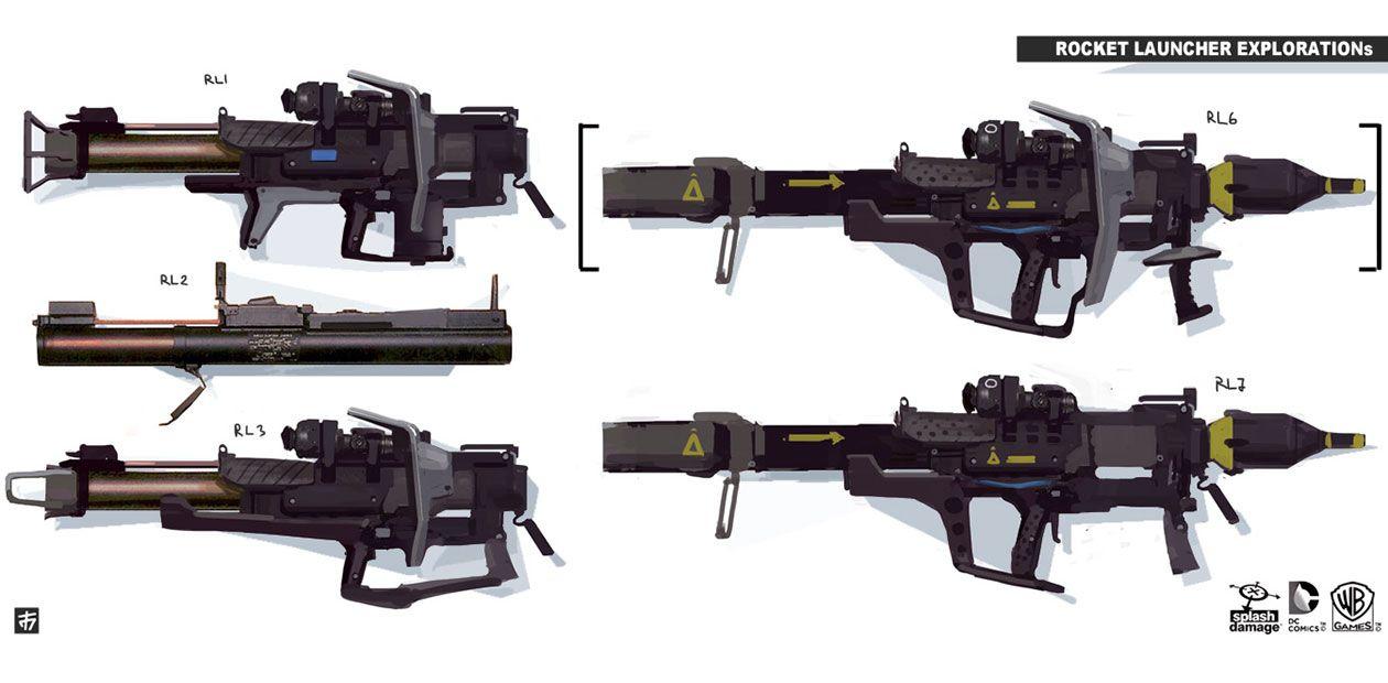 Rocket Launcher Variations, Arkham Origins