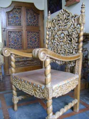 Antique Spanish Colonial Chair Chairs Pinterest Mobilier De