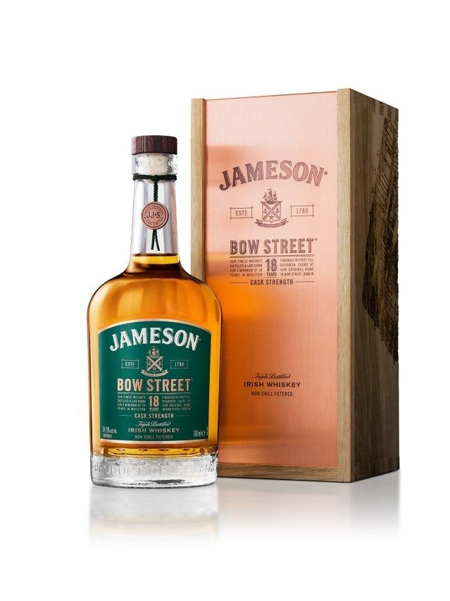 Jameson release Bow Street 18 Years Old Cask Strength Batch 2 #irishwhiskey