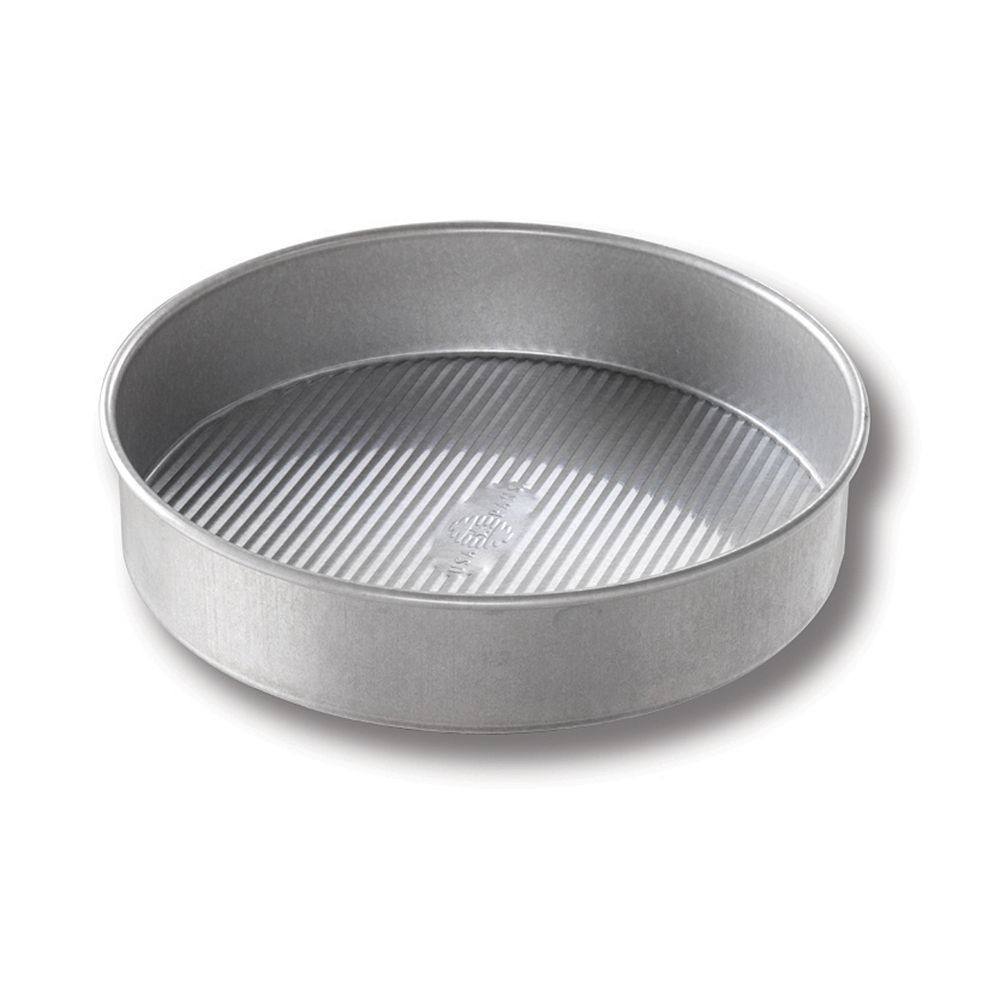 USA Pan 8-in. Round Cake Pan, Grey