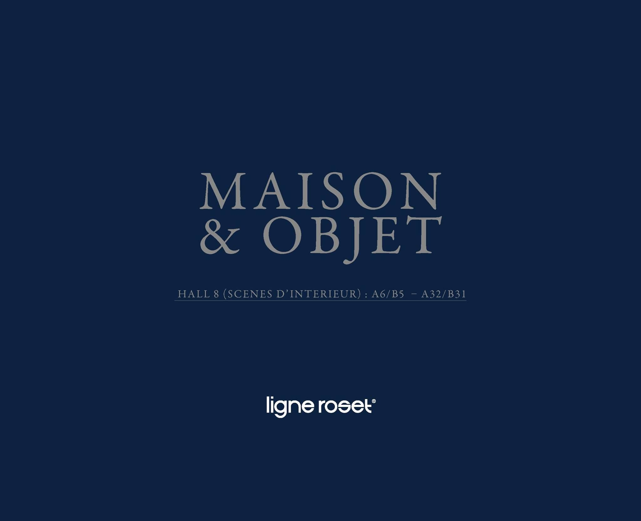Ligne roset at maison objet 2017 view highlights of the ligne rosets booth from