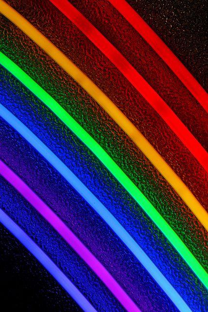 Neon Rainbow Detail Rainbow Wallpaper Neon Rainbow Rainbow Wallpaper Iphone Black wallpaper tumblr neon rainbow