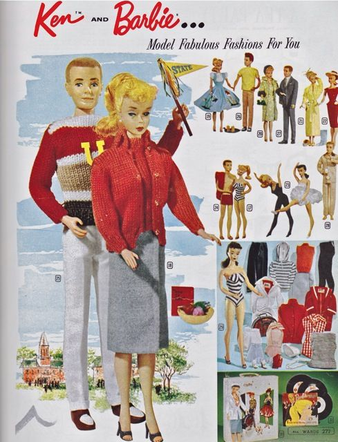 Mistakes by Mattel! - Barbie, Fashion Icon of the 60\'s | vintage ...