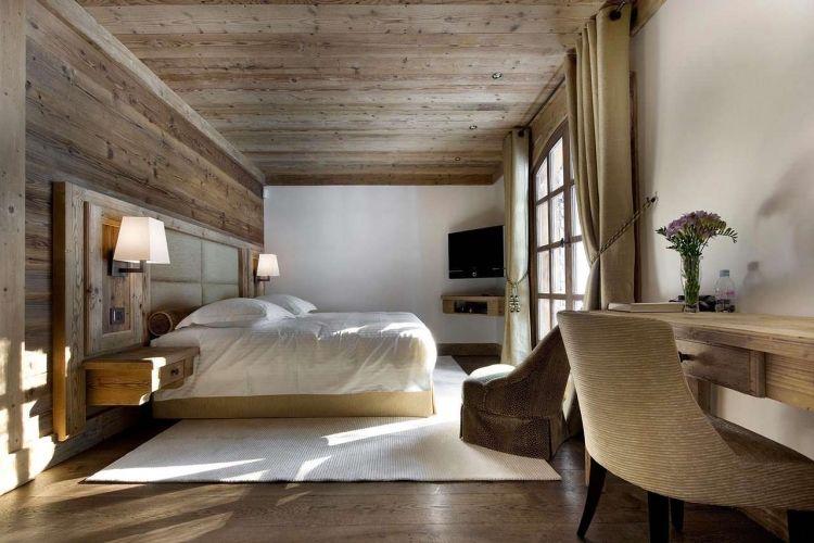 schlafzimmer-einrichtung-stil-chalet-modern-elegant-holz ...