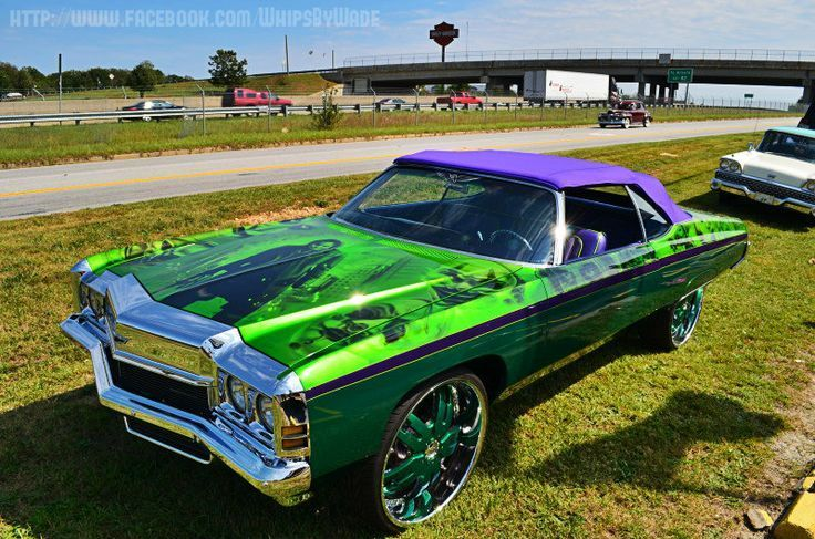 Related image Donk cars, Candy paint cars, Old school cars