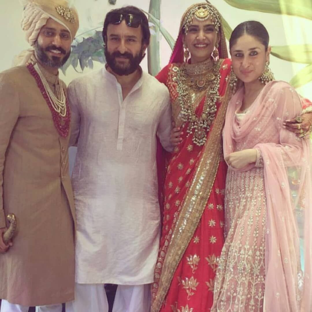 Who Wore What To Sonam Kapoor and Anand Ahuja's Wedding