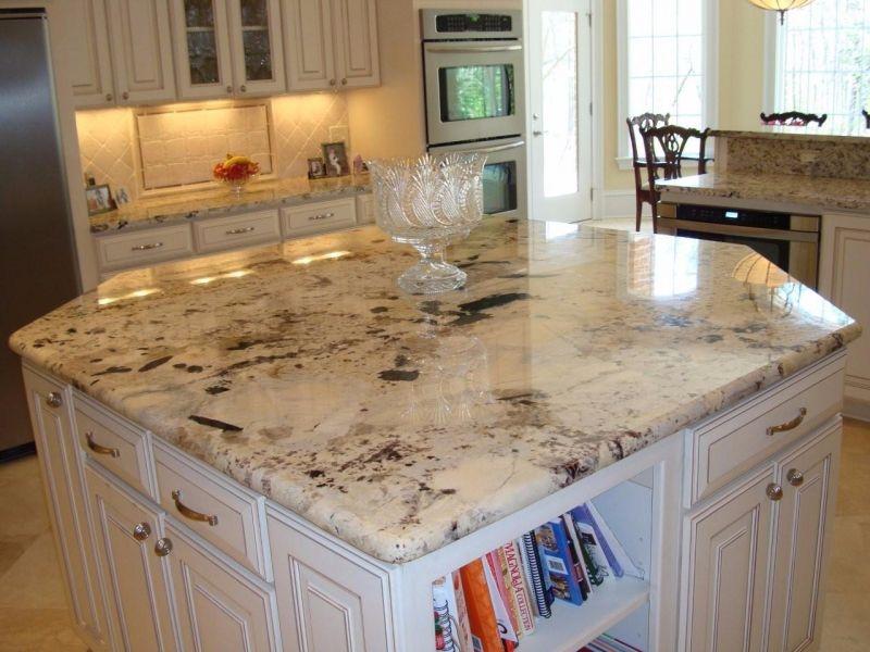 Kirkland S Dream Kitchen White Granite Kitchen White Granite Countertops White Granite