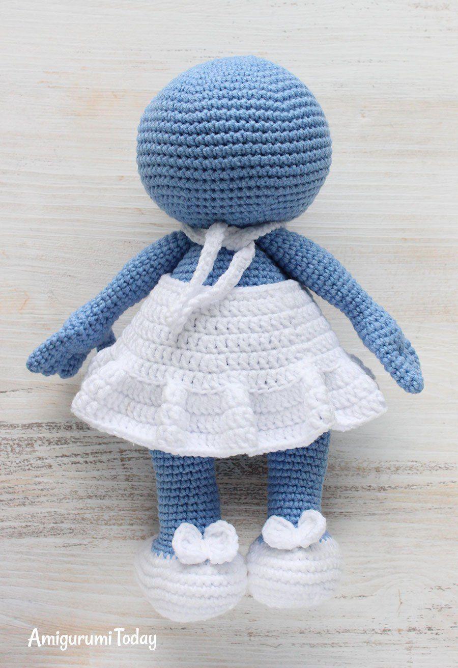 Crochet Smurfette amigurumi pattern | Pinterest | Manualidades ...