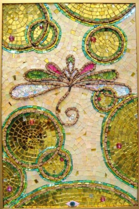 Misaic dragonfly