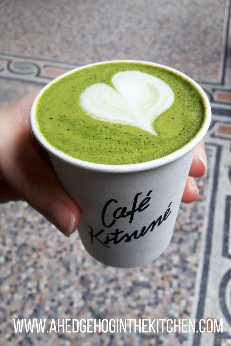 Our review of Café Kitsune in the Palais Royal in Paris. The matcha latte is amazing! | ahedgehoginthekitchen.com.