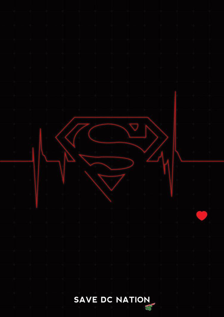 Heroes heartbeat superman co85 by colouronly85 on - Symbole de superman ...