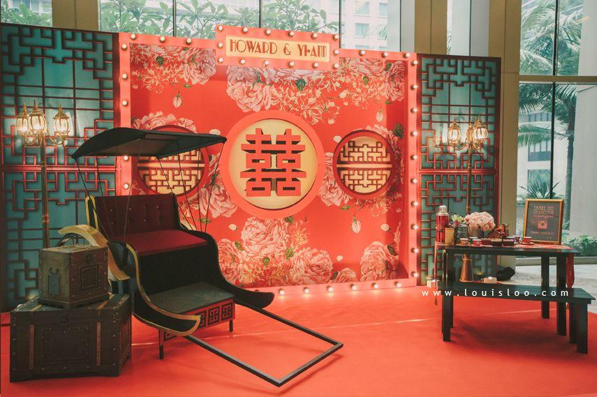 Wedding Idea Vintage wedding 1920 old Shanghai