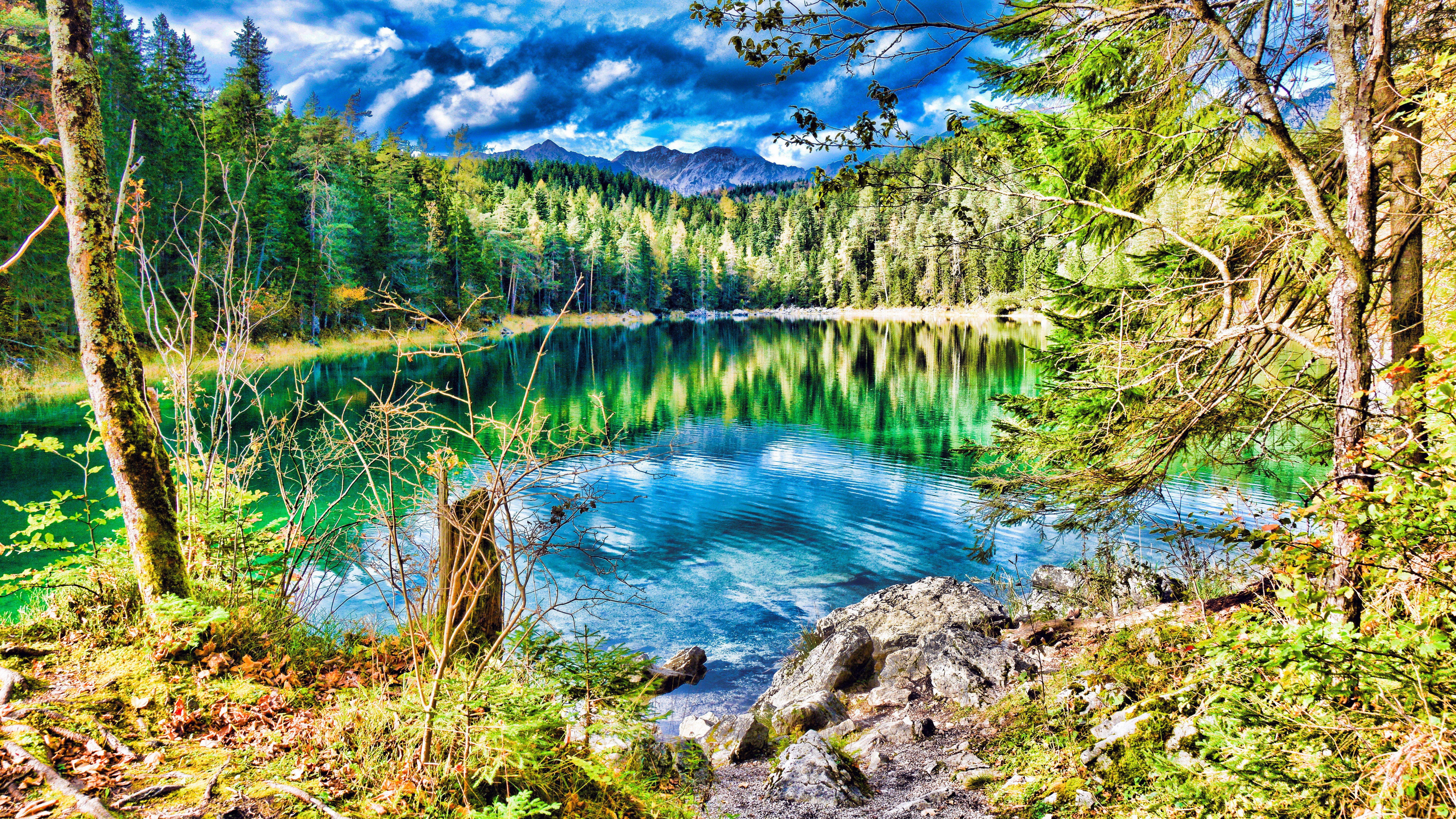 Clear Lake Ultra Hd Wallpaper 8k Resolution 7680x4320 Download