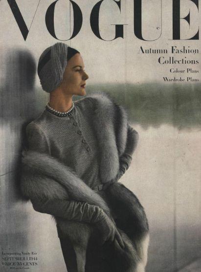 Stola Pelliccia Vintage 1944