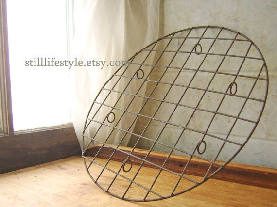 Vintage Wire Cooling Rack Large Round Cake Rack By Stilllifestyle Cooling Racks Cake Rack Kitchen Collection