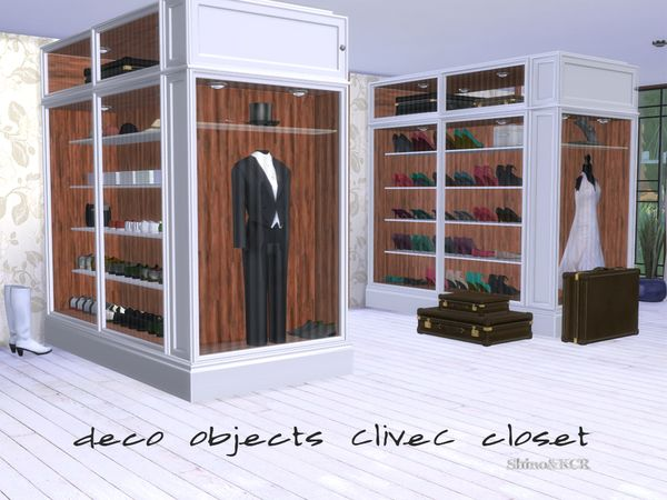 The Sims Resource Bedroom Closet CliveC Deco by Shino KCR
