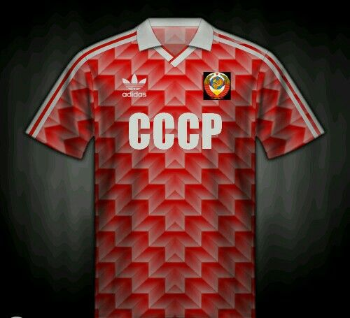 Russia home shirt for the 1988 European Championships.  0f0509d14