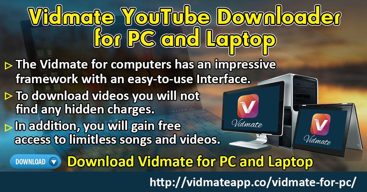 Vidmate for PC and Laptop (Windows XP, 7, Vista, 8, 8.1