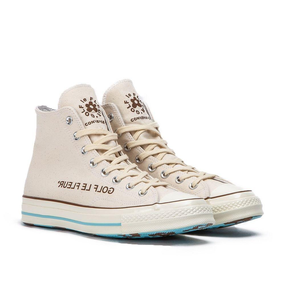 Tyler The Creator Golf Le Fleur X Converse Chuck 70 Off White Egret Black 10 5 Fashion Clothing Shoes Ac Golf Le Fleur Shoes Cheap Vans Shoes Golf Le Fleur
