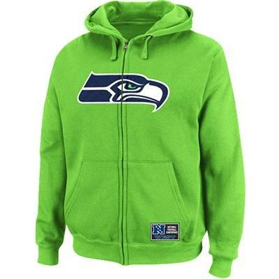 best cheap 78b07 21b91 Lime green zip up | Lime Green | Seattle Seahawks, Seahawks ...