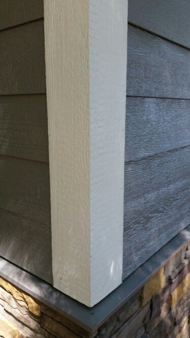 Lp smartside lap siding pelican gray color pro home for Lp smartside board and batten