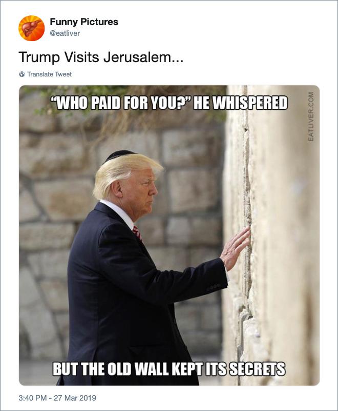 Pin On Trump Humor