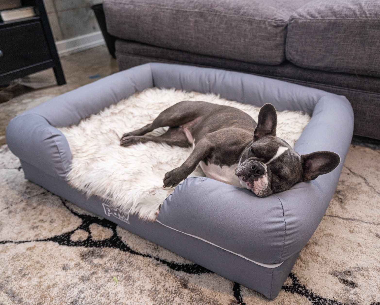 Puplounge Memory Foam Dog Bed Topper In 2020 Orthopedic Dog