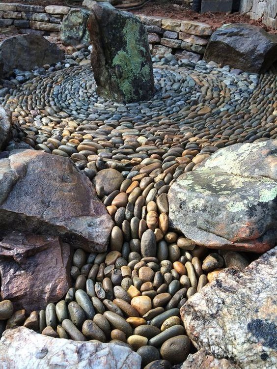 The Rock Gardens Can Are Available In Various Shapes And Sizes These Ornamental Rocks And Stones Pebble Garden Rock Garden Landscaping Landscaping With Rocks