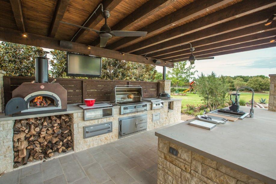 Outdoor Küchenmöbel Holz : Wie sie die passende outdoor küche für die terrasse wählen