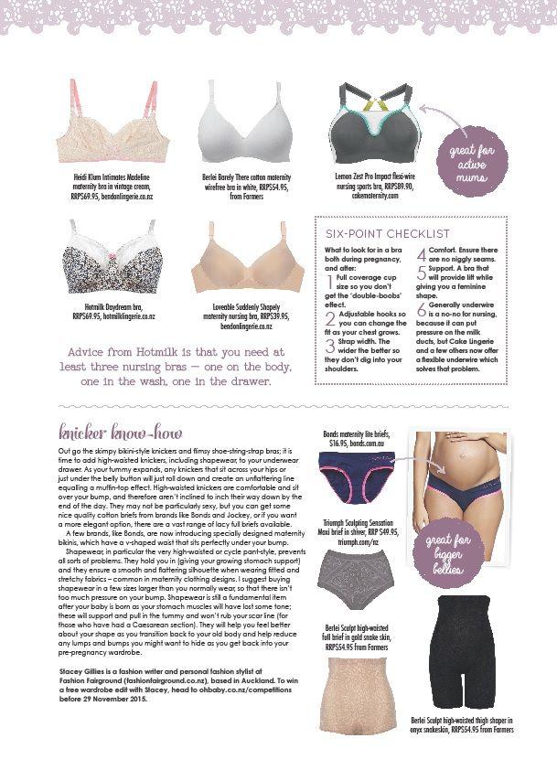 7a85be130243d Oh Baby NZ article, maternity underwear, nursing bras, knickers ...