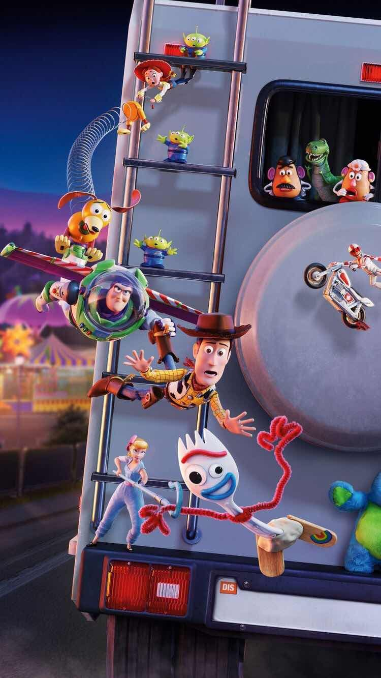 Iphone And Android Wallpapers Toy Story 4 Wallpaper For Iphone And Android Disney Wallpaper Cute Disney Wallpaper Cartoon Wallpaper
