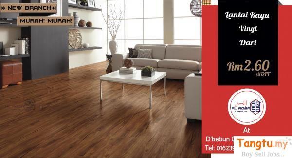 Promo Wood Vinyl Flooring Pada Harga Rendah Lantai Kayu Vinyl