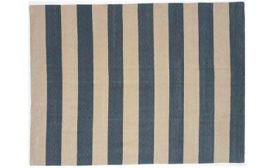 Blue White Striped Rug 2 X 3 75 3 6 X 5 6 200 6