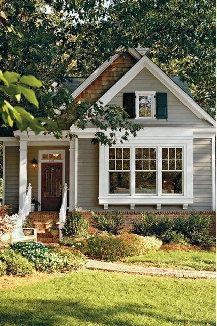 Our Best House Plans For Cottage Lovers | Exterior Colors, Color Combos And  Park