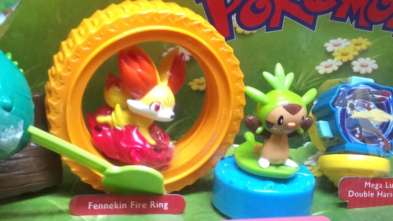 Pokemon mcdonalds happy meal toys pokemon toy pokemon