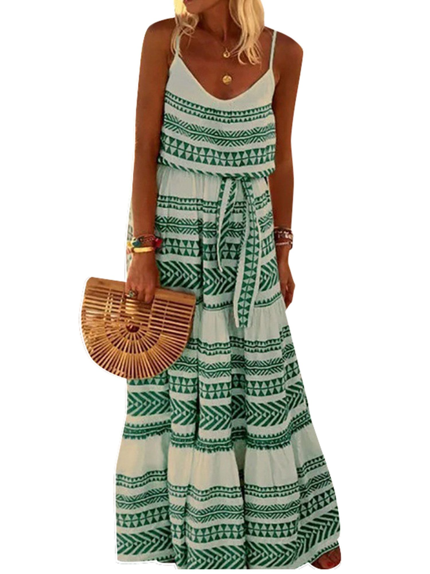 25 Boho Dresses From Walmart With Major Summer Weekend Vibes Boho Summer Dresses Boho Dress Cheap Summer Dresses [ 2000 x 1500 Pixel ]