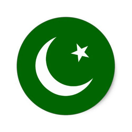 Pakistan Muslim League Colombia Flag Classic Round Sticker Zazzle Com In 2021 Pakistan Flag Round Stickers Colombia Flag