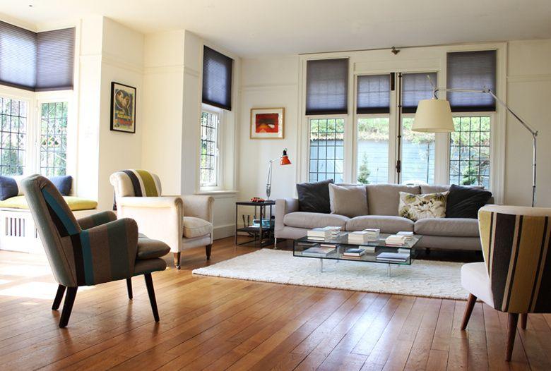 edwardian interiors london simple roman blinds Chester House