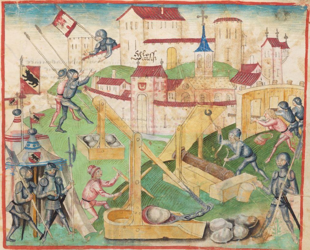 Diebold Schilling, Amtliche Berner Chronik, Bd. 1 Bern · 1478-1483 Mss.h.h.I.1  Folio 105